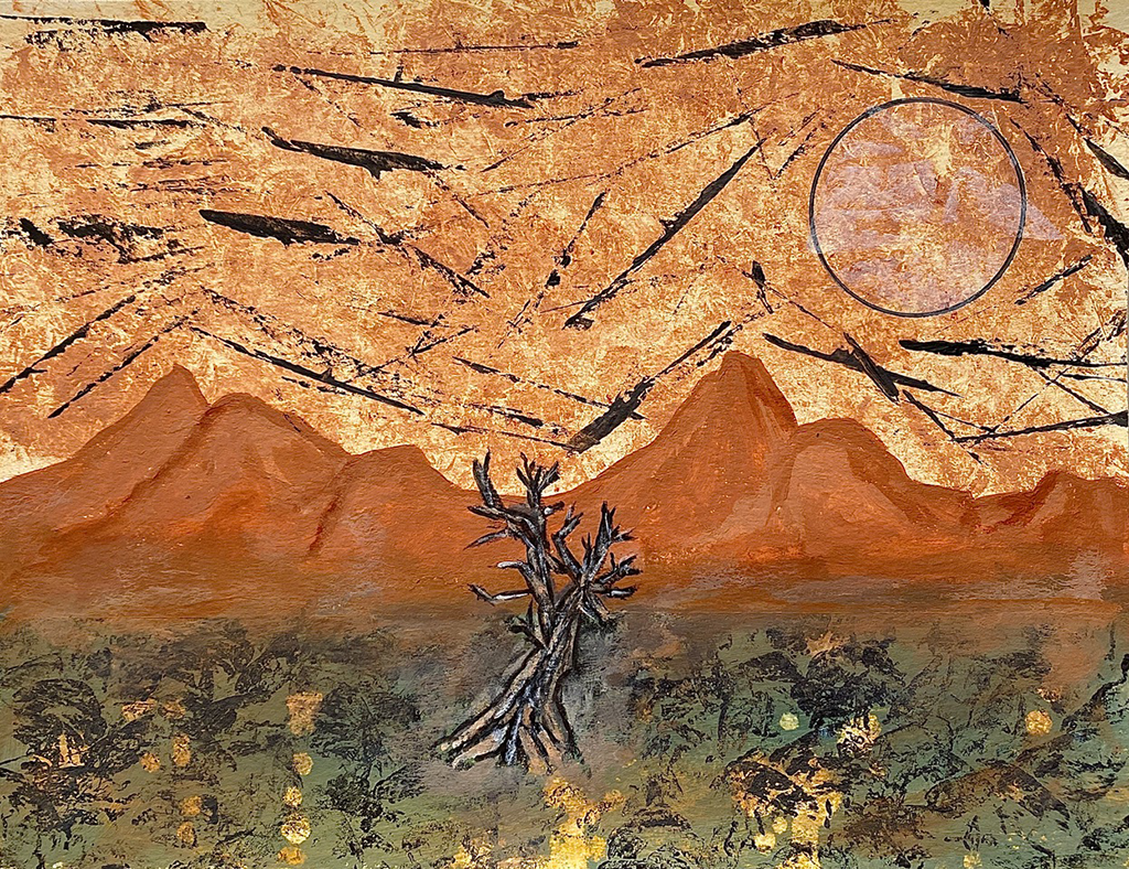 Untitled (Desert Mountains)
