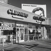 Small Strip Mall and American Apparel Graphic