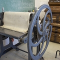 Printmaking Press from Side