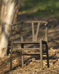 Rusty lawn chair style