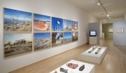 Installation view of Greetings from the Salton Sea