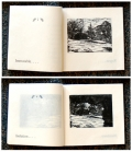 Book Arts - nature etching
