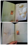 Book Arts - floating head