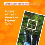 American express mockup flyer