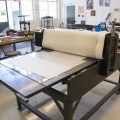 Printmaking Press Diagonal View