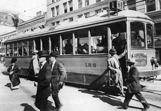 Car 125 Line 1 Trolley 1915
