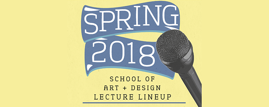 Spring 2018 text with microphone